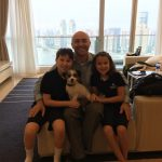 Tessie Arrives in Shanghai China